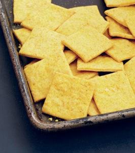 Vegan Cheesy Crackers from Veganize It!