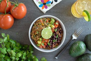 Savory Southwest Teff and Steel-Cut Oats