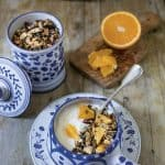 Orange-Cranberry Spiced Granola with Almonds From Orange Appeal