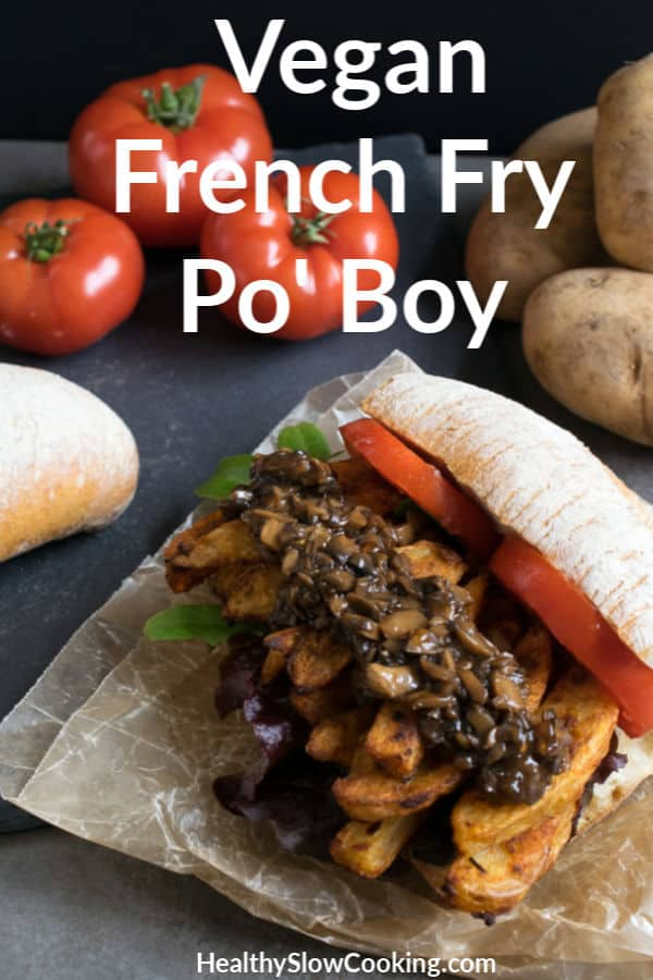 French Fry Po' Boy - Air Fryer and Oven Directions