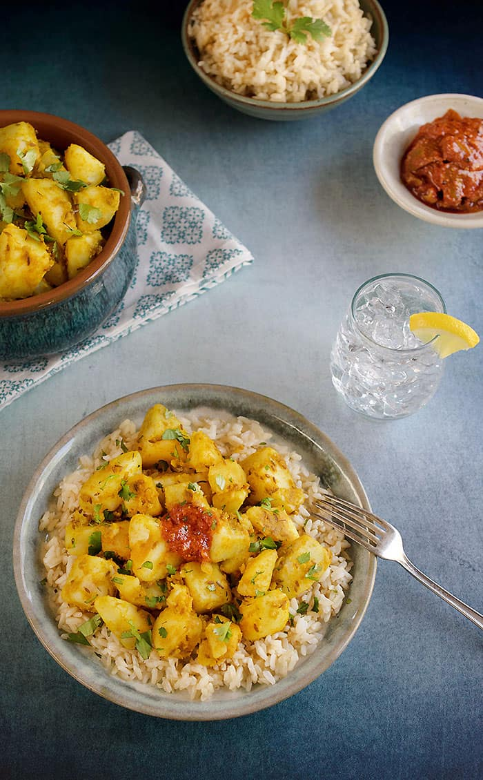Indian-Style Cumin Idaho® Potatoes (Vegan Aloo Jeera)