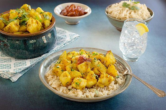 Indian-Style Cumin Idaho® Potatoes (Vegan Aloo Jeera)