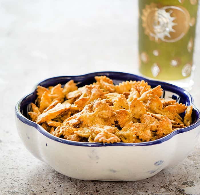Your New Fav Snack: Air Fryer Bow Tie Pasta Chips