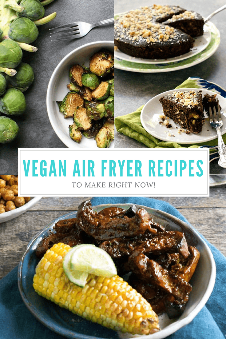 The Big List of Vegan Air Fryer Recipes to Make Right Now!