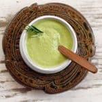 Kale Stem Creamy Pasta Sauce