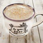 Vegan Hazelnut Mocha Coconut Latte or Frappuccino