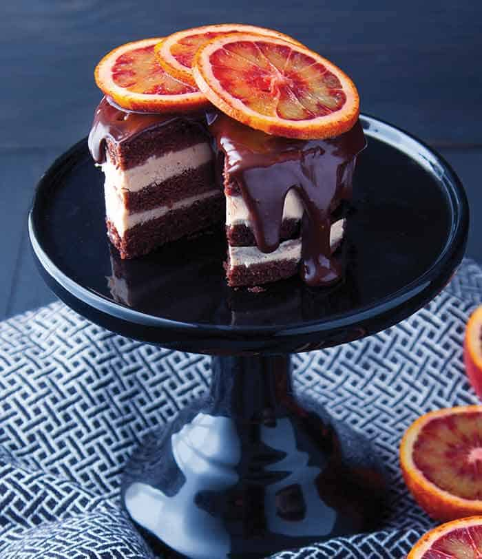 Frozen Mini Layer Cake