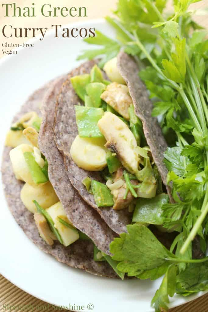 Thai Green Curry Tacos