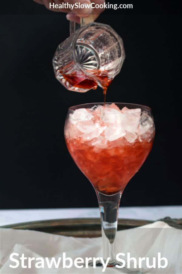 Nancy McDermott's Strawberry Shrub