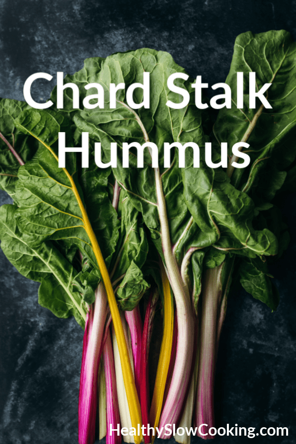 Chard Stalk Hummus