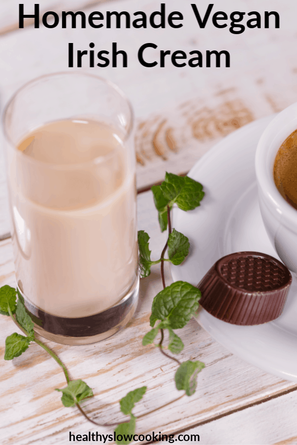 homemade vegan irish cream