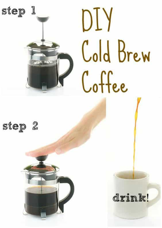 Step by Step Cold Brew Coffee from The Easy Vegan Cookbook
