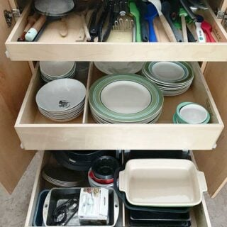 After: 3 pull out ShelfGenie Drawers