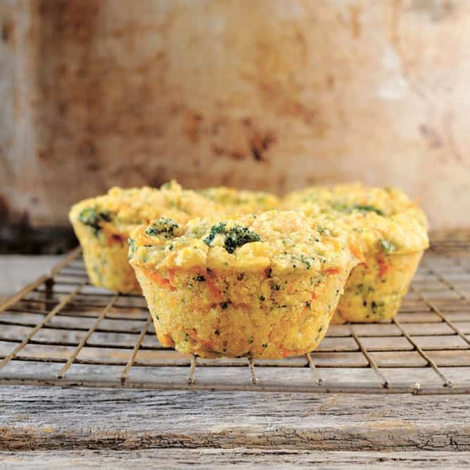 Crouching Cornbread, Hidden Broccoli from Bake and Destroy by Natalie Slater