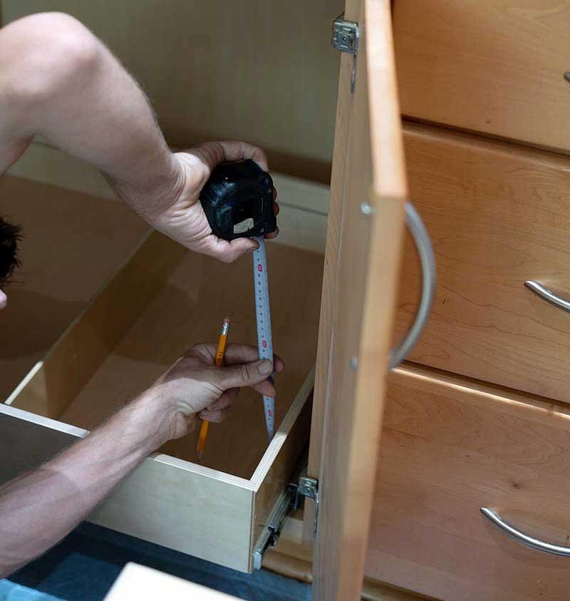 Mini Kitchen Redo: ShelfGenie Cabinet Inserts
