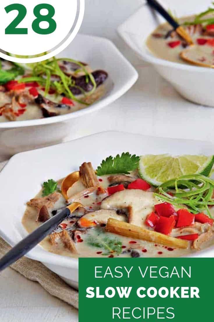 28 Easy Vegan Slow Cooker Recipes