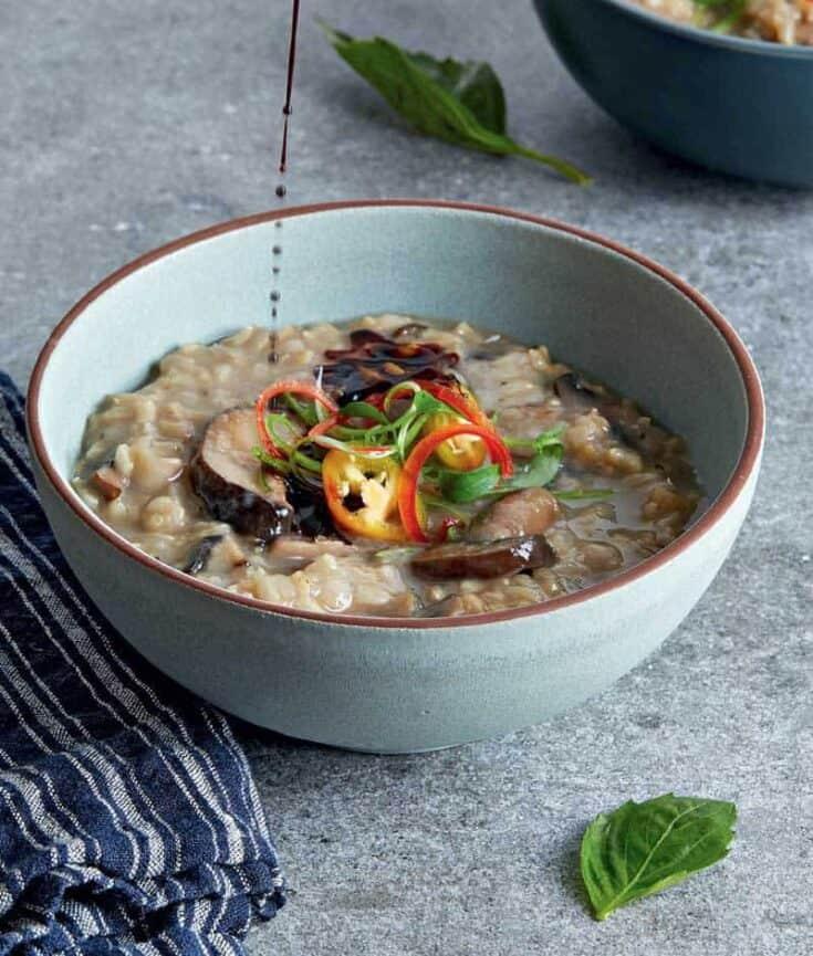 Mushroom Congee Recipe