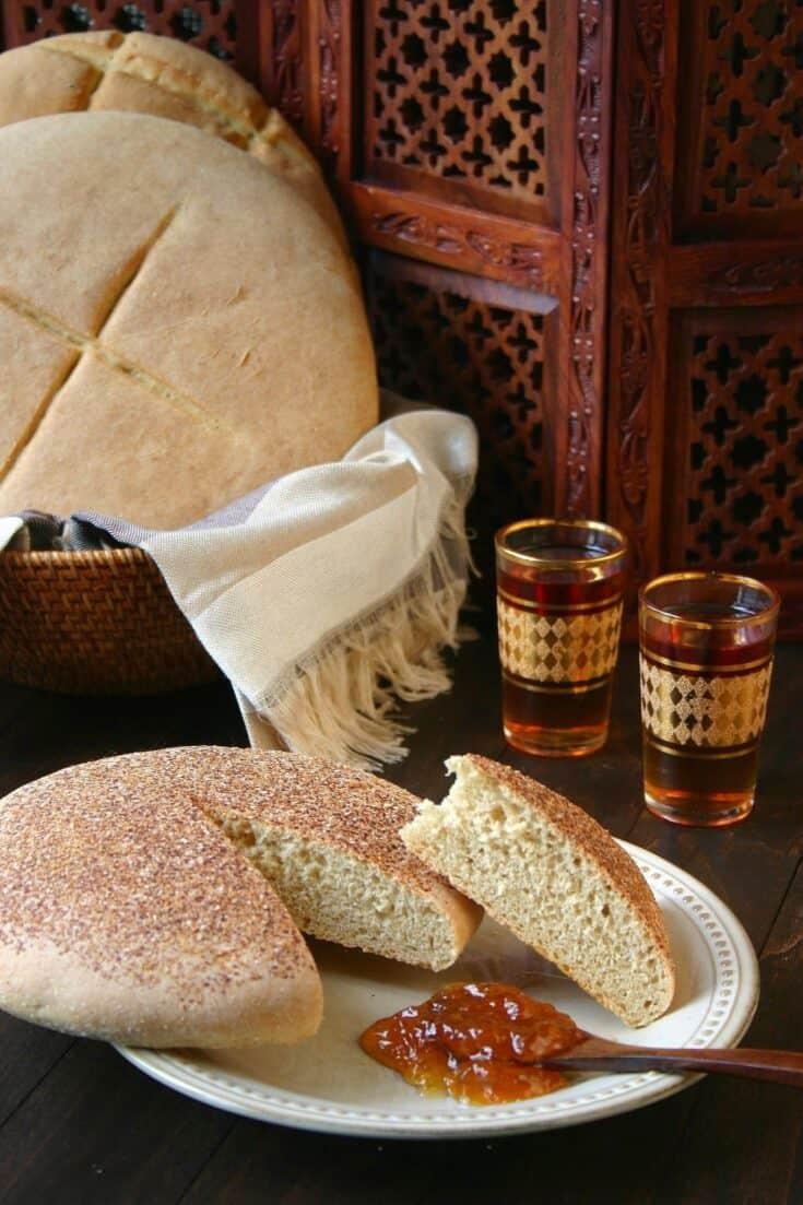 Moroccan Bread - Khobz Kesra