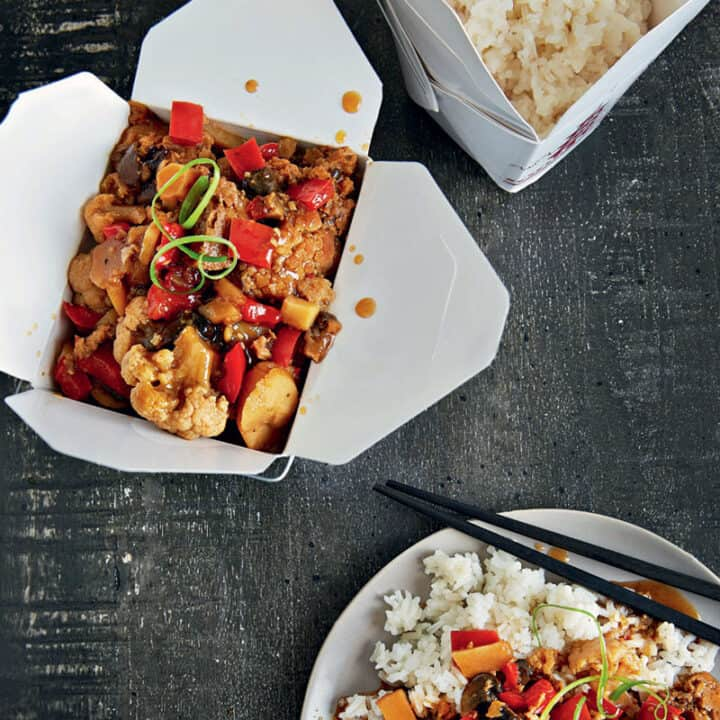 Kung Pao Cauliflower in Your Slow Cooker