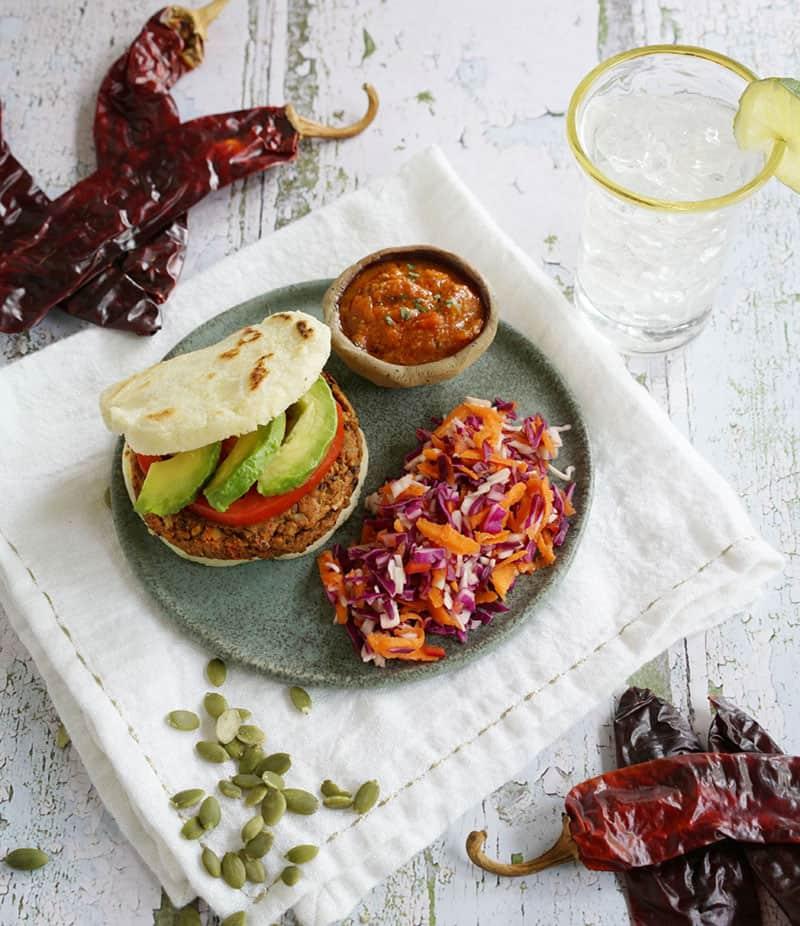 Chile Pepita Idaho® Potato Veggie Burgers